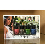 OPI New Orleans Collection JAMBALAYETTES - 4 Mini Polishes - NEW IN BOX ... - $8.90