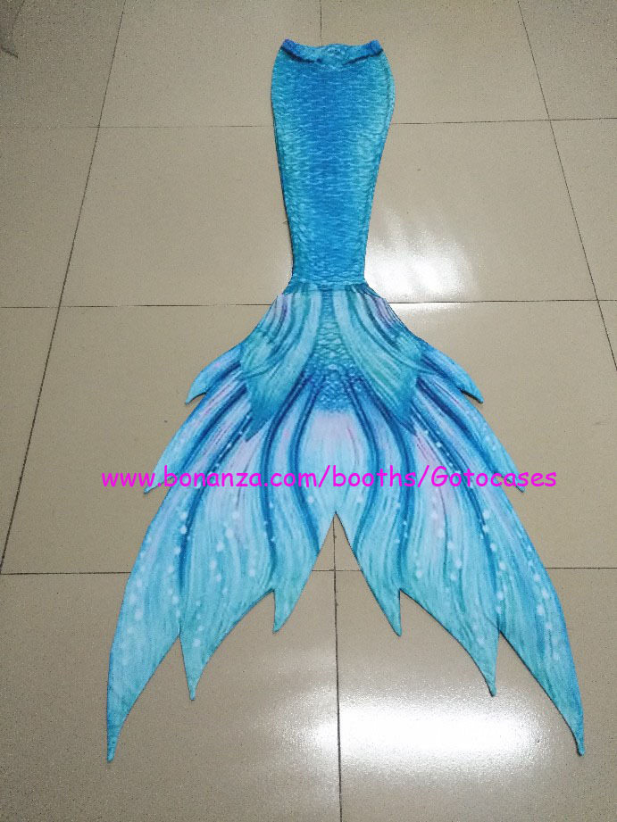 Hot Red Mermaid Tail for Swimming, Kids Adult Mermaid Cosplay Costumes