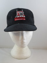 Vintage Trucker Hat - Aggressive Transport Semi Graphic - Adult Snapback - $49.00