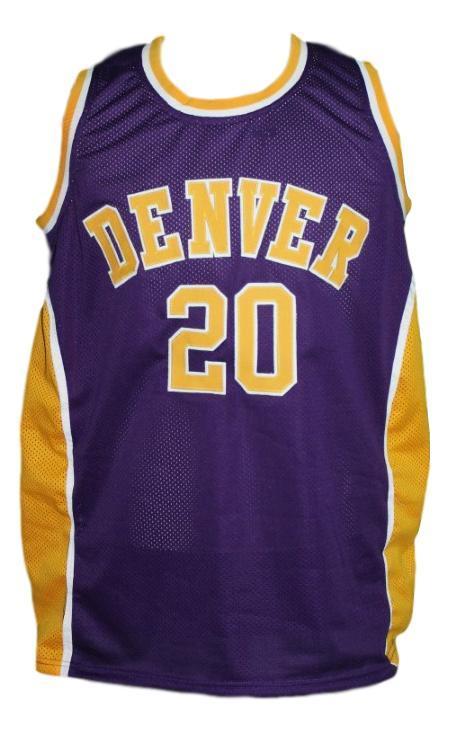 Custom name   denver rockets aba basketball jersey purple   1