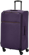 Spinner Suitcase Softside Rolling Luggage 29 Inch Purple Expandable Trav... - $91.70