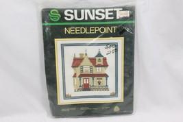 Sunset Needlepoint Kit 6470 Heritage House Sampler - $21.07