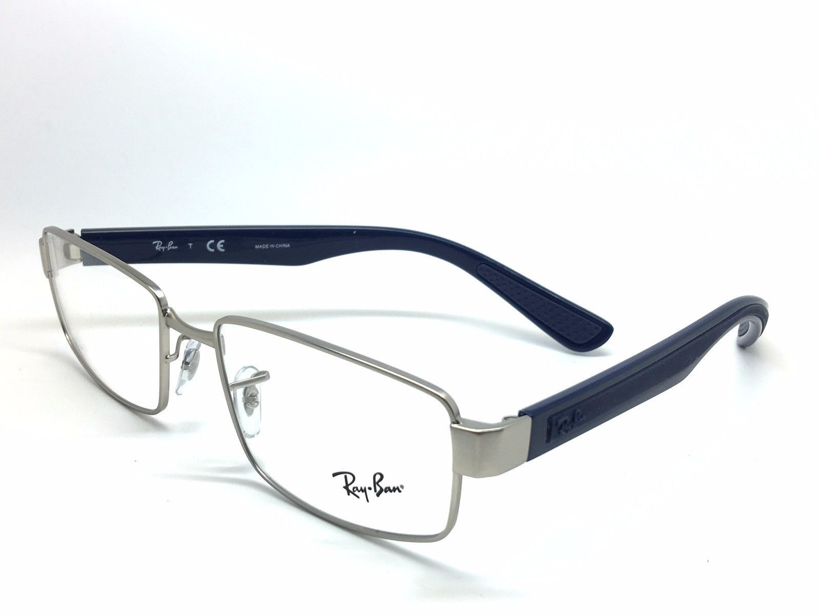 a8f59956566 Ray-Ban RB 6319 2538 Gunmetal Blu GOMMA and 50 similar items