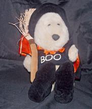 Starbucks Witch Teddy Bear Plush Halloween 2000 11th Bearista Stuffed Animal - $4.99