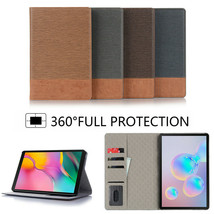 Leather Stand Slim Flip Case Cover For 2019 Samsung Galaxy Tab S6 10.5 T... - $100.85