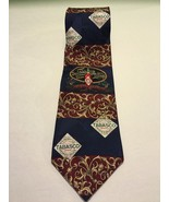 Tabasco Pepper Sauce Gulf Shrimp 100% Silk Necktie Gift - $7.70
