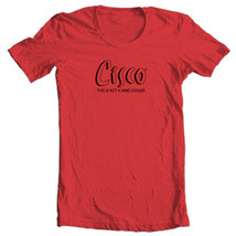Cisco T-shirt Bum Wine retro 1980's cotton graphic malt liquor red tee shirt image 1