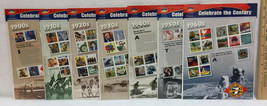 USPS Stamps Decades Sheets Set 7 1900s - 1960s Celebrating The Century NEW - $49.45