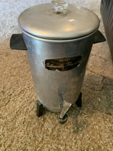 Vintage Electric Coffee Percolator / C-9292 / 22 Cup / With Cord / 1970  image 3