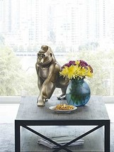 Moe's Home Collection Digit Art Deco Gorilla Statue, Bronze - $184.29
