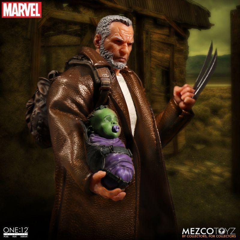 Mezco One:12 collettivo LOGAN MARVEL ACTION FIGURE X-MEN