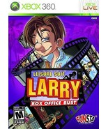 Leisure Suit Larry Box Office Bust Microsoft XBOX 360 Video Game - $16.97