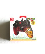 Super Mario Bowser Nintendo Switch WIRED Traditio Style Controller 8ft U... - $32.99
