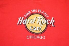 Hard Rock Cafe Chicago Crewneck Size SMALL Sturdy Sweats Vintage Music - $28.01