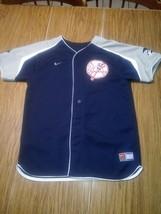 Genuine MLB Merchandise New York Yankees NIKE Jersey #18 Johnny Damon Yo... - $19.34