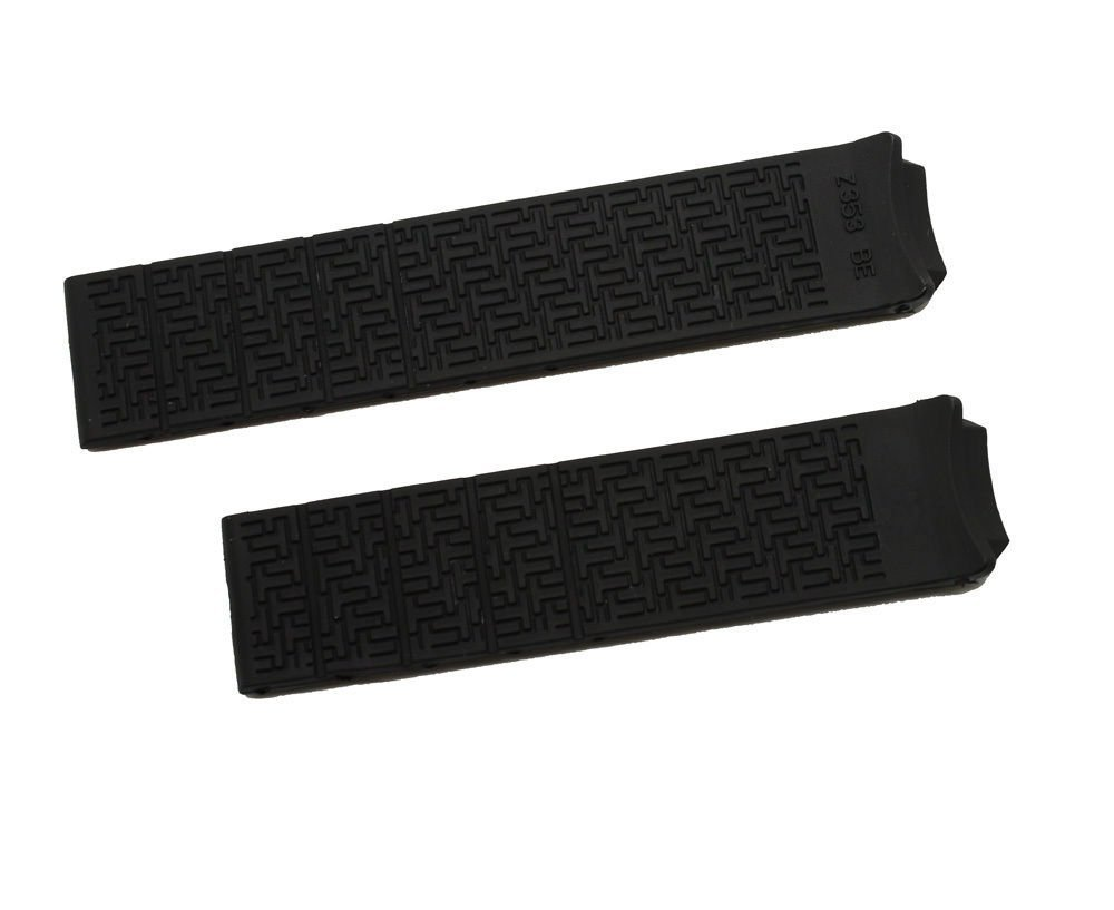 New Black Rubber Diver Watch Band Strap For 21mm Tissot T-Touch Expert