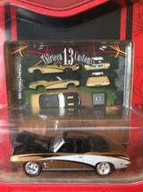 Johnny Lightning Thirteen 13 Customs RT Gold 69 Pontiac Firebird Convertible - $9.90