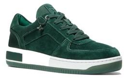 MICHAEL MICHAEL KORS Jaden Suede Sneakers Racing Green Size 5 - $118.79