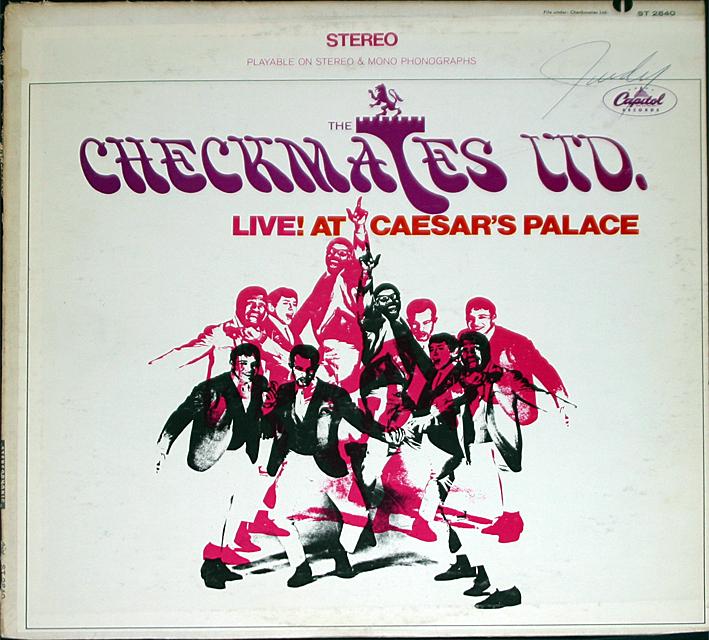 Checkmates ltd live cover