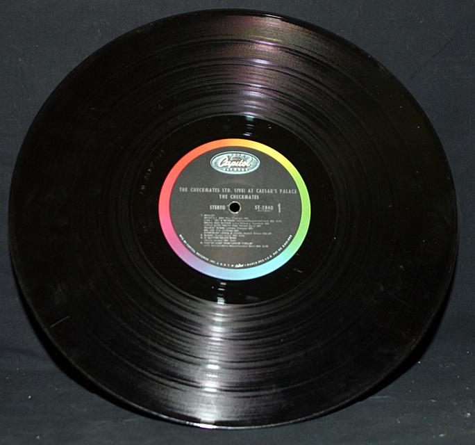 The Checkmates Ltd.   Capitol Records ST-2840    LP