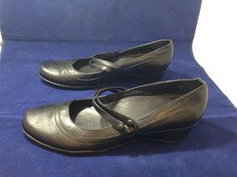 Clark's Active Air Women's Black Comfortable Casual Dress Shoes Sz 10M image 3