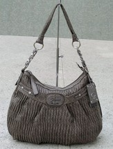 Guess Cool Disco Hobo Bag Purse Gray NWT - $29.99