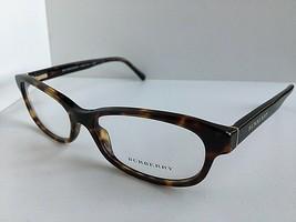New BURBERRY B 0222-F 3002 54mm Tortoise Cats Eye Rx Women's Eyeglasses ... - $149.99