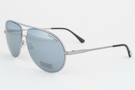 Tom Ford Cliff  Silver / Gray Mirror Sunglasses TF450 14C - $195.02