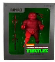 Kidrobot Teenage Mutant Ninja Turtles 17.8cm Raphael Vinile Personaggio Tnmt Nib