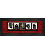 Union College Officially Licensed Framed Campus Letter Art - $39.95