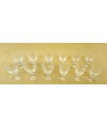 Etched Crystal Wine Glasses 2 sets of 6 - $68.57
