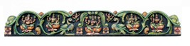 Door Panel Wooden Home Decor Vintage Beautiful Collectible Handicraft India - $1,944.41