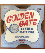 NEW Vintage Golden Gate Fly Fishing Leader Material #C115 30' 15 lb test - $8.80