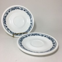 3 Corelle Corning BLUE ONION Old Town Blue Saucers Vintage Set of Three - $7.55