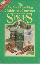 McCormick / Schilling Guide to Gourmet Spices 22 Page Paperback Book - $1.99