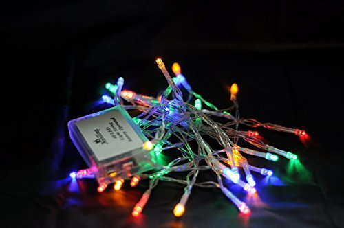 Karlling Battery Operated Multicolor 40 LED Fairy Light String Wedding Party Xma