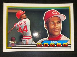 1989 Topps Big Baseball Card #273 Eric Davis Cincinnati Reds Free Shipping - $5.13