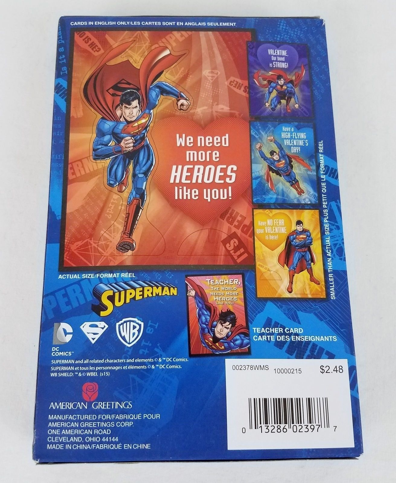 Superman Punch Out Stand Up Valentines Day And 35 Similar Items