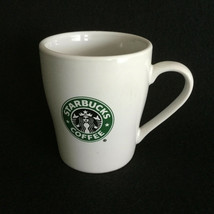 Stabucks Coffee White Ceramic Mug Cup Green Mermaid Siren Logo 8 Fl oz. 2007 - $9.88
