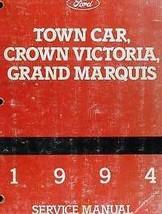 1994 Ford Crown Victoria & Mercury Grand Marquis Service Shop Repair Man... - $128.65