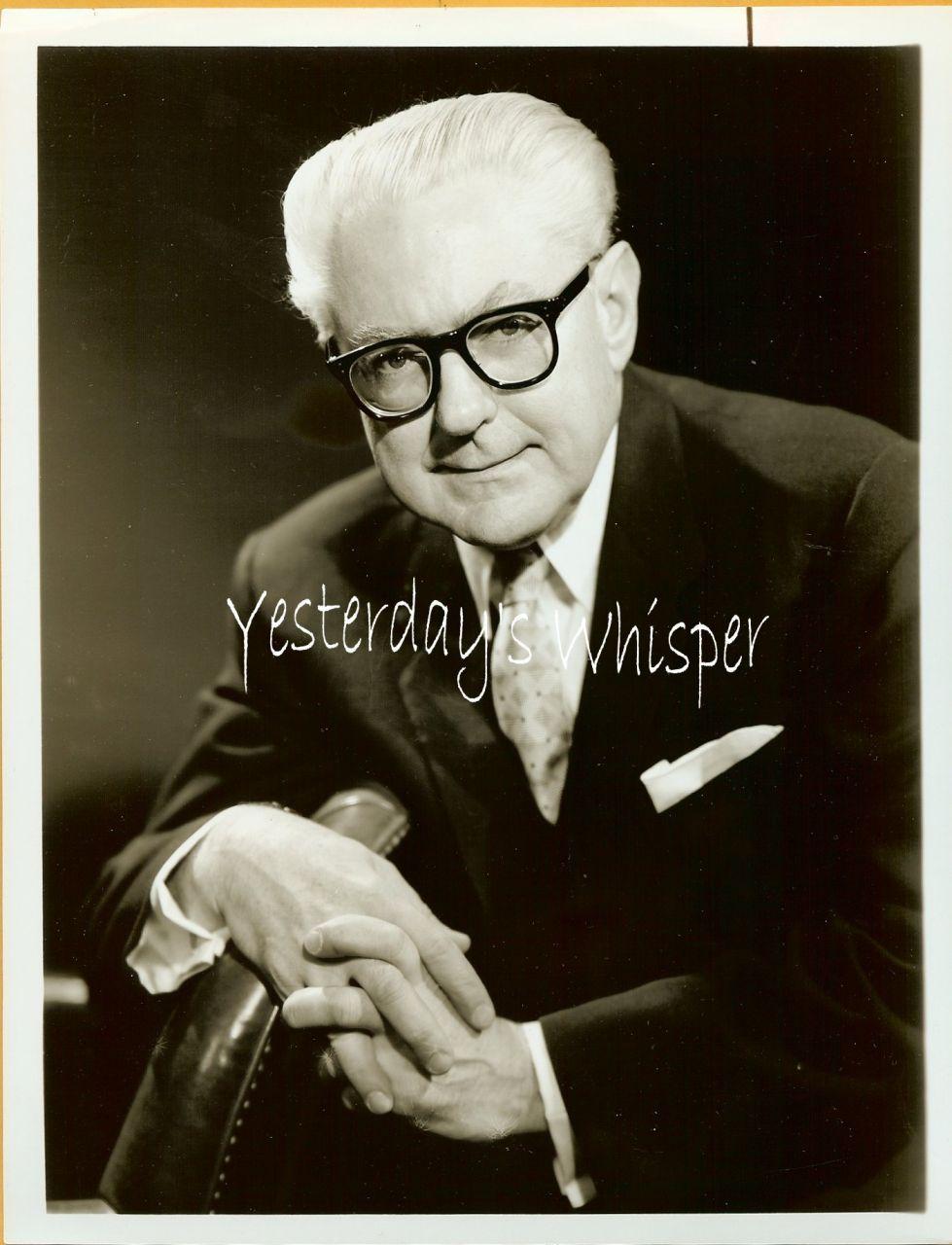 1950s TV Promo Photo Gershwin Conductor Donald Voorhees K478