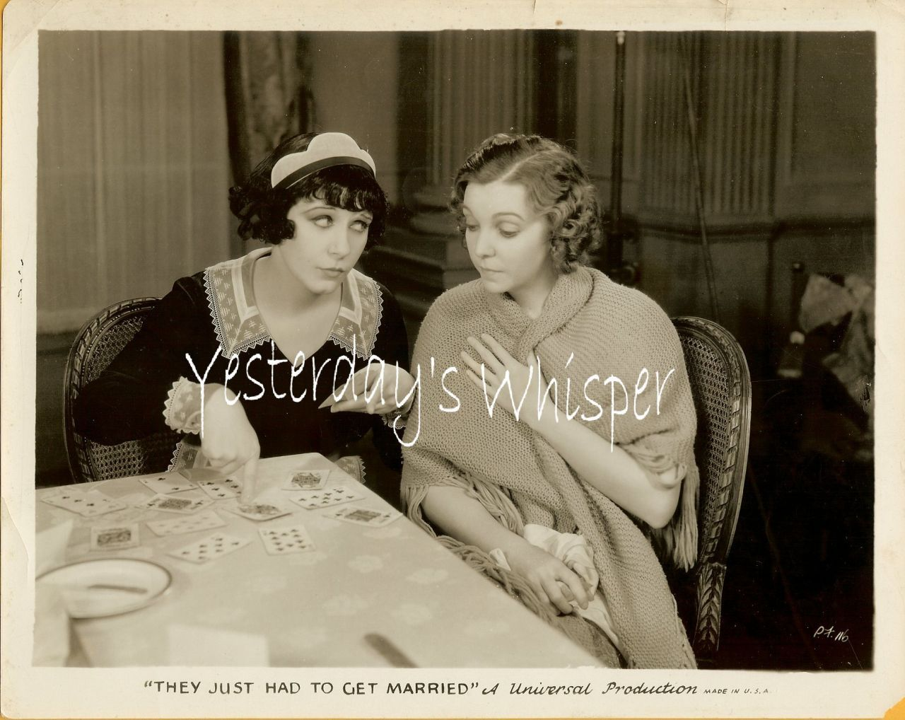 1939 Vintage Cinema Photo Zazu Pitts Maid Fifi D'Orsay K510