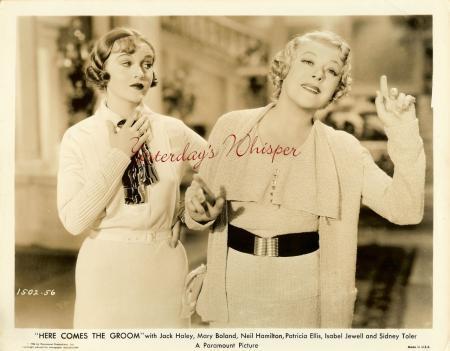 1930s Vintage Movie PHOTO Patricia Ellis Mary Boland k521