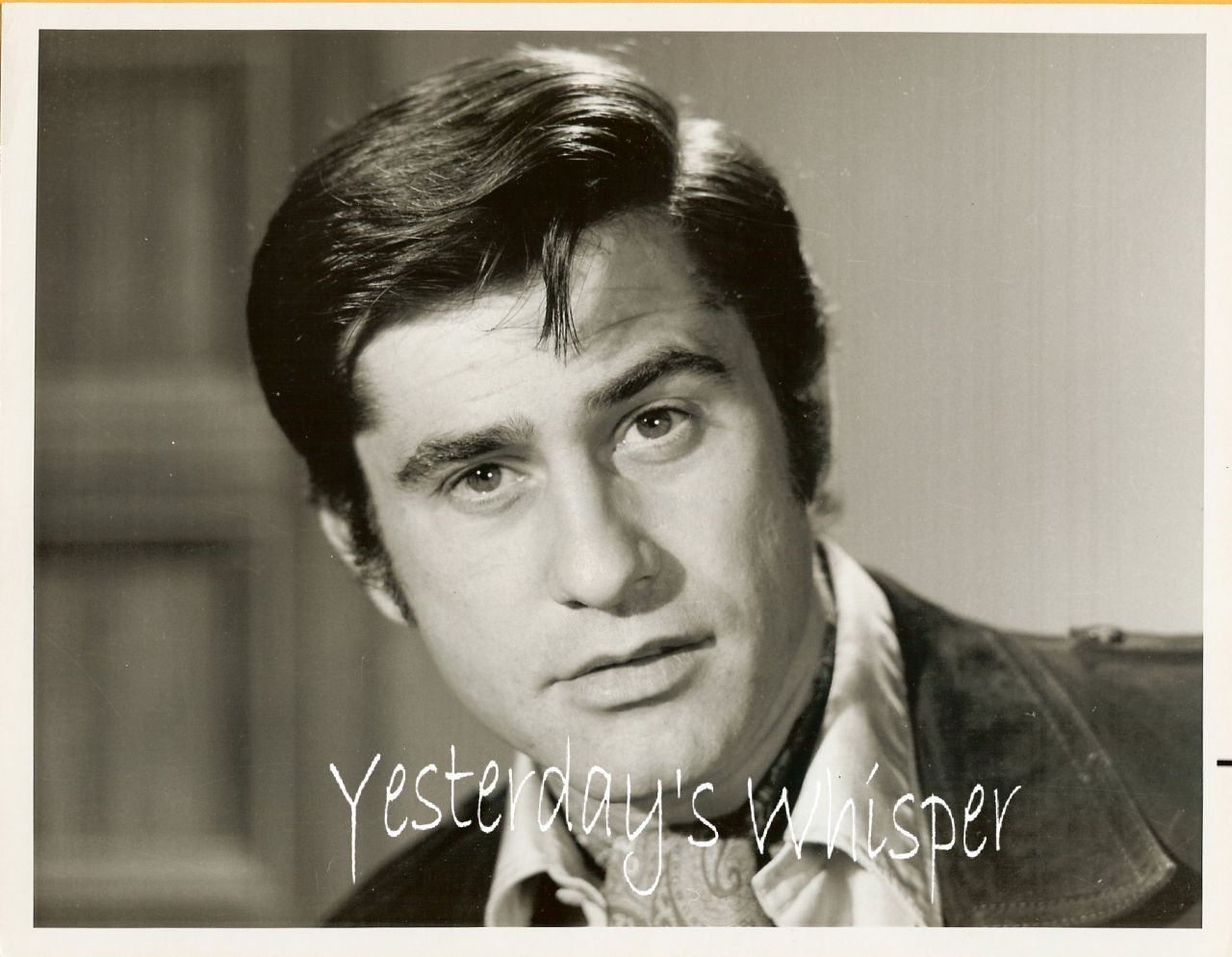 1960s TV PHOTO handsome James Farentino The Bold Ones K504