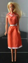 Vintage 1966 Mattel Barbie Doll Blonde in summer dress - $14.84