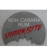 Pinback Button Ron Cabana Rum Shark Bite 1980s Vintage One Pin Badge  - $7.99