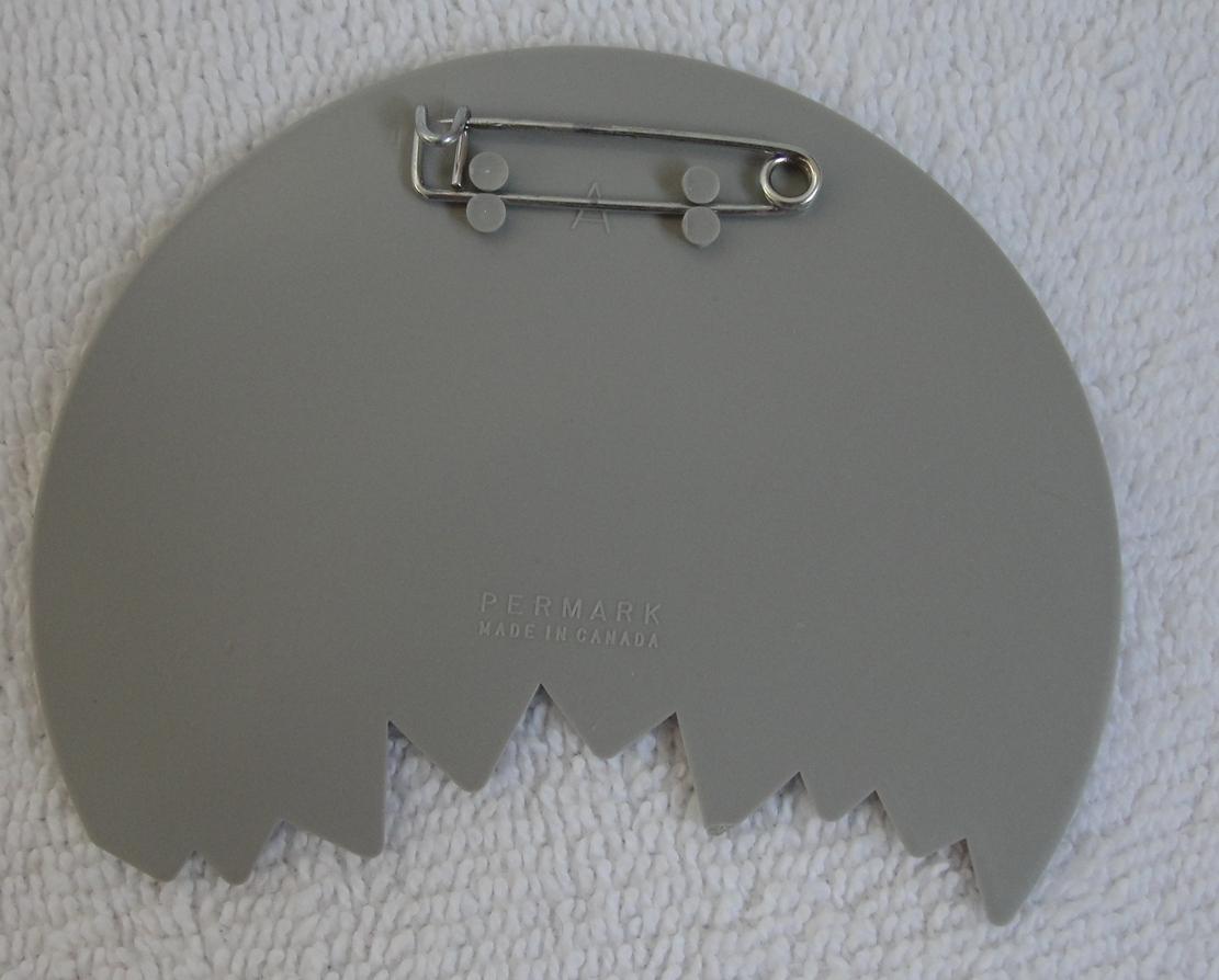 Pinback Button Ron Cabana Rum Shark Bite 1980s Vintage One Pin Badge