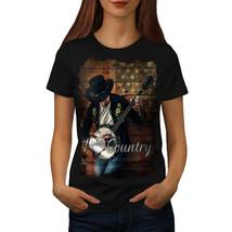 Country Music Player Shirt Music Love Women T-shirt - $12.99