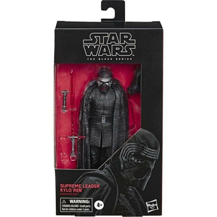Star Wars Black Series Supreme Leader Kylo Ren 6 Inch Figure ROS #90 In Stock image 2