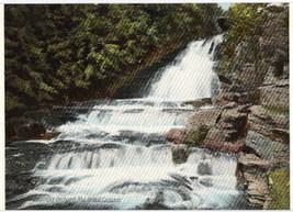 Vintage 1907 Bridal Falls Old Orchard Me Postcard - $2.25